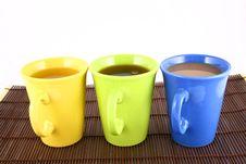 Free Color Mug (with Tea And Coffee Stock Photo - 2596880