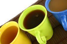 Free Color Mug (with Tea And Coffee Stock Photography - 2596922