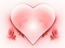 Free Heart Fractal Royalty Free Stock Image - 2596956