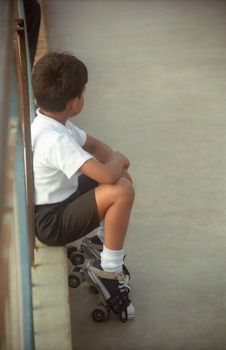 Free Young Skater Stock Photography - 2598962