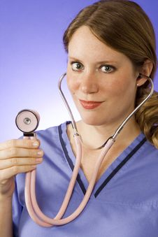 Free Doctor With Stethoscope Stock Photography - 2599162