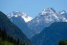 Free Two Mountains Stock Photos - 2599503