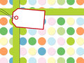 Free Dot Pattern With Gift Box Stock Images - 25904514
