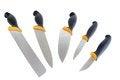 Free Kitchen Knife Set Stock Images - 25905624