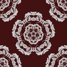 Free Seamless Pattern Vintage Background. Royalty Free Stock Image - 25902756