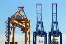 Free Port Cranes Stock Images - 25905614