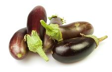 Free Eggplants Group Stock Image - 25906071