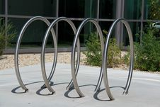 Free Bicycle Rack Royalty Free Stock Image - 25906446