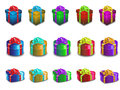 Free Various Color Gift Boxes Royalty Free Stock Images - 25910439