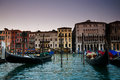 Free Venice Gondolas And Venitian Buildings Royalty Free Stock Photos - 25917608