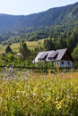 Free Mountain Cottage Royalty Free Stock Photography - 25919427