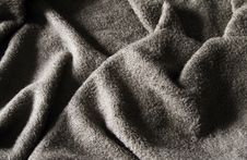 Grey Towel Royalty Free Stock Image