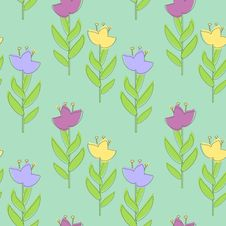 Free Floral Pattern Stock Photo - 25913640