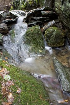 Free Creek In The Woods Stock Image - 25915411