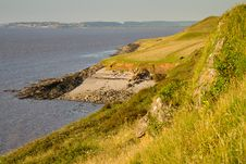 Free Sand Point Near Weston-super-Mare Royalty Free Stock Images - 25916089