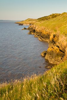 Free Sand Point Near Weston-super-Mare Somerset Royalty Free Stock Photos - 25916138