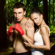 Free Fashion Photo Of Young Man And Woman Stock Photography - 25916962