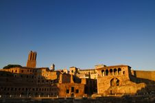 Free Rome Ruins Foro Di Traiano Stock Photo - 25917450