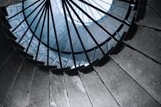 Spiral Staircase Stock Image