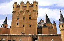 Alcázar Of Segovia Royalty Free Stock Image