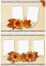 Free Autumn Frames Set Royalty Free Stock Photography - 25920437