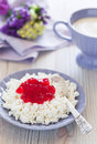 Free Homemade Cottage Cheese Stock Photo - 25927500