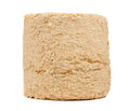 Free Compressed Sawdust Fire Log Stock Image - 25927661