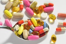 Free Assorted Pills Stock Photo - 25928630