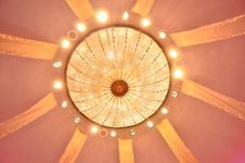 Free Vintage Ceiling Lamp Royalty Free Stock Photo - 25930245