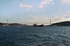 Free Bosphorus Bridge, Istanbul Royalty Free Stock Image - 25936636