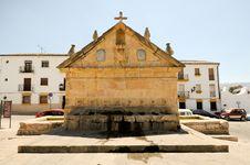 Free Ocho Caños Fountainin Ronda, Andalusia, Spain Stock Photos - 25937993