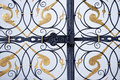 Free Ornamental Iron Gate Royalty Free Stock Photos - 25943688