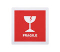 Free Fragile Sticker With Clipping Path Stock Photo - 25947170