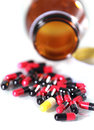 Free Close Up Of Capsules Royalty Free Stock Images - 25949409