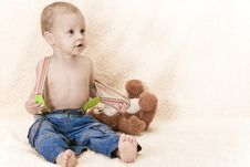 Free Child And Toy Stock Images - 25941364