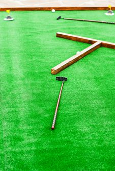Free Mini Golf Field Stock Photo - 25948040