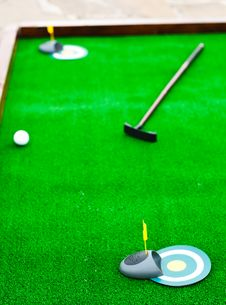 Free Mini Golf Field Stock Photography - 25948052