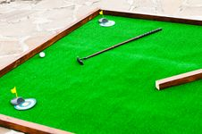 Free Mini Golf Field Royalty Free Stock Photography - 25948077