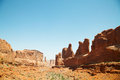 Free Scenic View At Arches National Park, Utah, USA Royalty Free Stock Photography - 25951127
