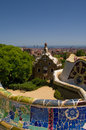 Free Guell Park In Barcelona, Architecture By Gaudi Royalty Free Stock Photo - 25953535
