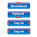 Free Button Set For Website Stock Photo - 25953580