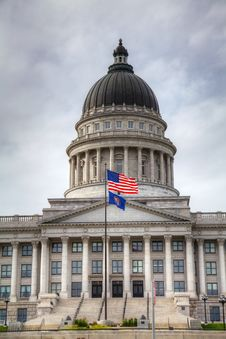 Free Capitol Building In Salt Lake City, Utah Royalty Free Stock Photography - 25950907