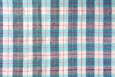 Free Blue Stripe Fabric Texture Royalty Free Stock Photography - 25951567