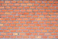 Free Clay Brick Wall Stock Image - 25951711