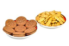 Free Two Types Of Cookies Stock Image - 25952201