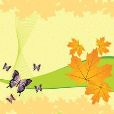 Free Autumn Abstract Background Stock Photography - 25952792