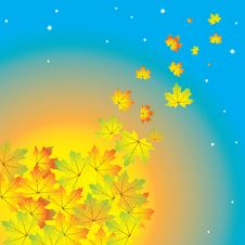 Free Autumn Abstract Background Stock Images - 25953024