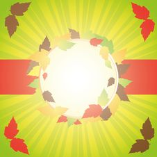 Free Autumn Abstract Background Stock Photography - 25953112