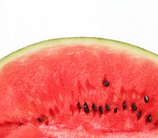 Free Half A Slice Of Watermelon Stock Photography - 25953342