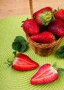 Free Fresh Strawberry Royalty Free Stock Photos - 25967568